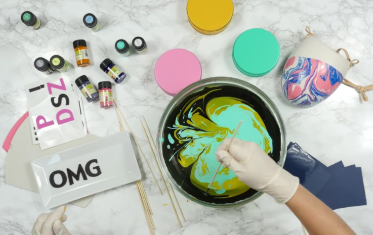Barve za marmoriranje