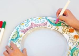 Flomaster za porcelan in keramiko Marabu